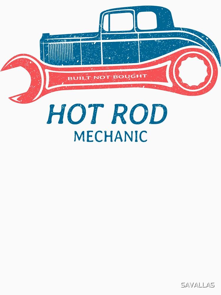 Hot Rod Mechanic von SAVALLAS