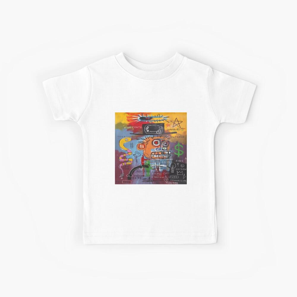 Basquiat Intelligent TM Kinder T-Shirt