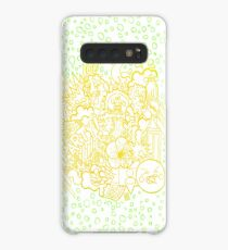 YellowGreen Doodle picture Case/Skin for Samsung Galaxy