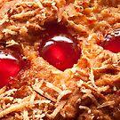 Cherry and Coconut Cake by John Hooton