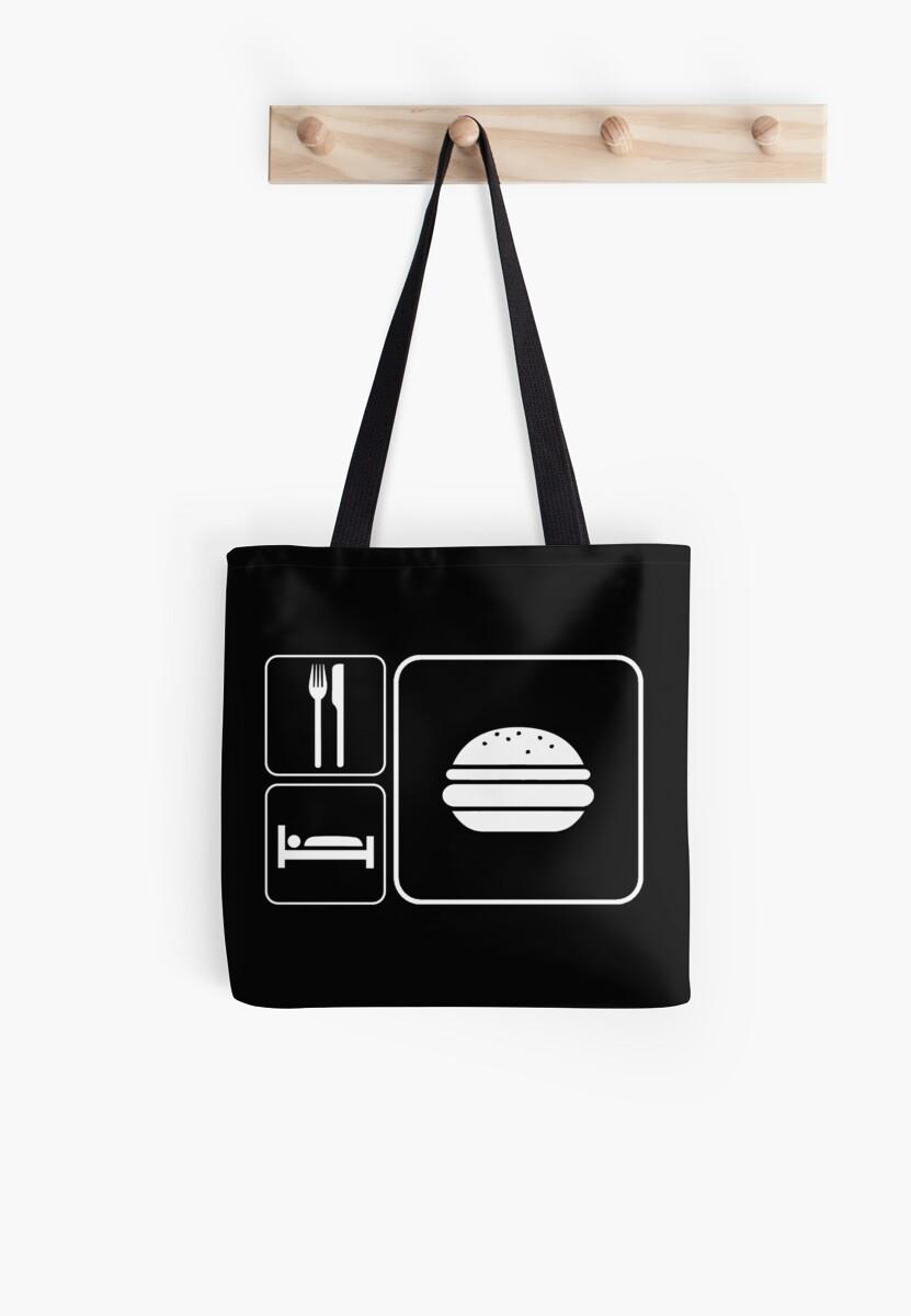 Food Sleep Cheeseburgers by Pixelchicken