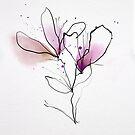Floral mit Tinte von annemiek groenhout