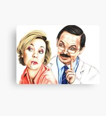 Green Wing's tragic lovers Canvas Print