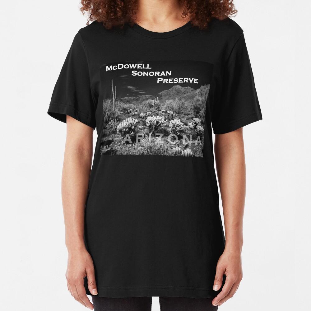 McDowell Sonoran Preserve, Scotsdale Arizona Slim Fit T-Shirt