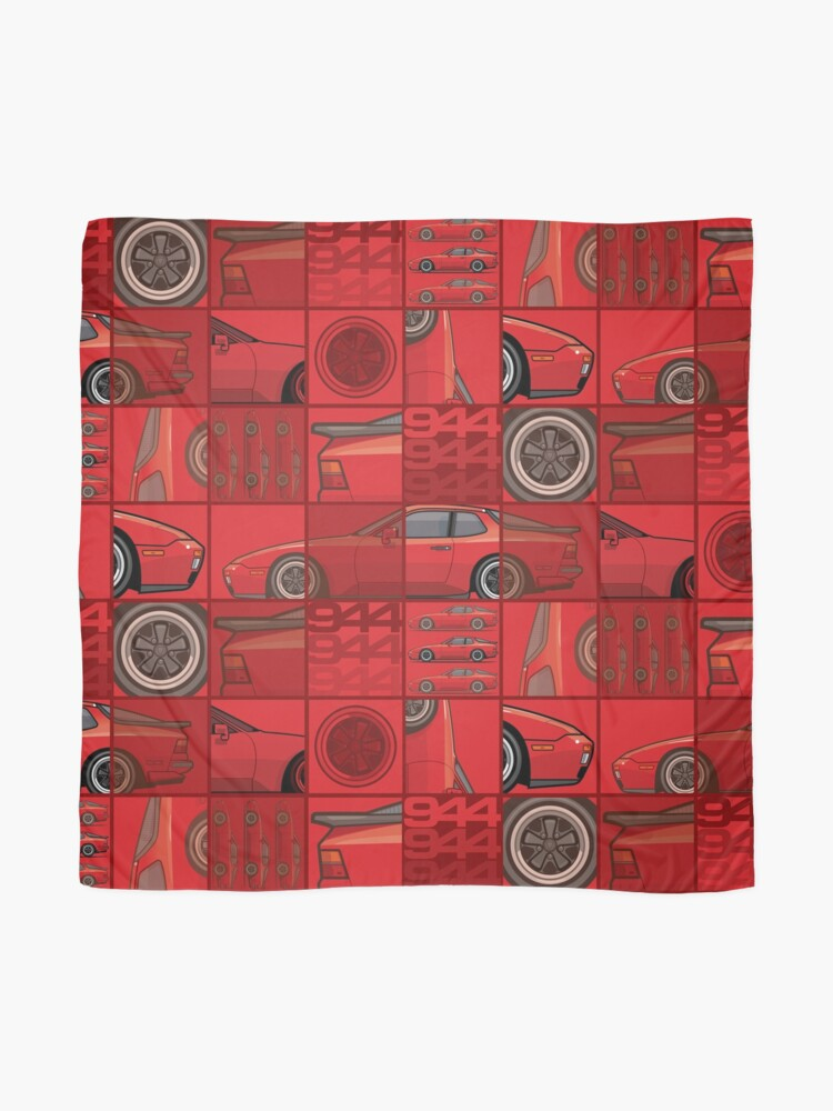 Alternate view of India Red 1986 P 944 951 Turbo (US spec) Scarf