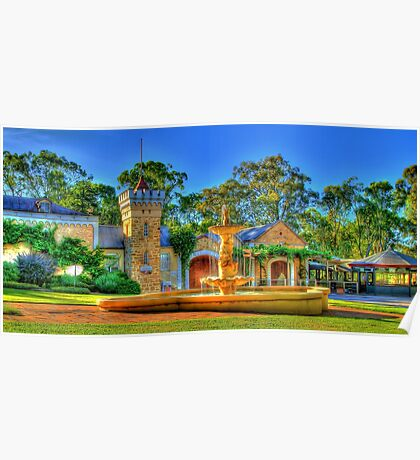 Chateau Yaldara Gardens Poster