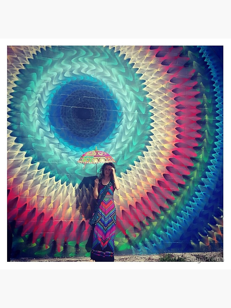 Charka Umbrella by SatyaPrema