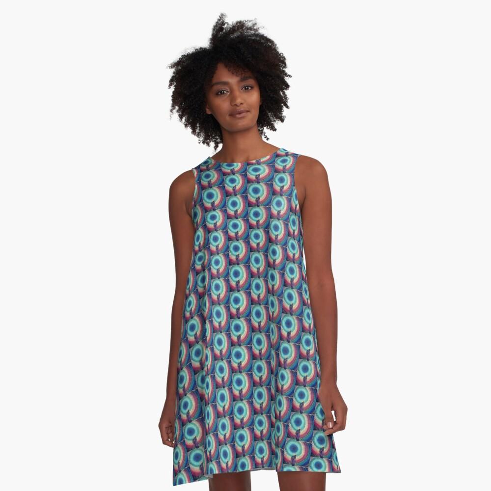 Charka Umbrella A-Line Dress