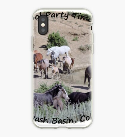 Sand  Wash Basin Pool  Party iPhone Case