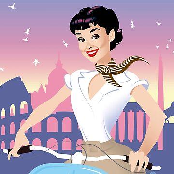 Rome by AleMogolloArt