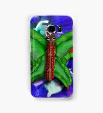 Chop Sticks and Fingers Butterfly Samsung Galaxy Case/Skin