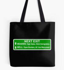 Next Exit Tote Bag