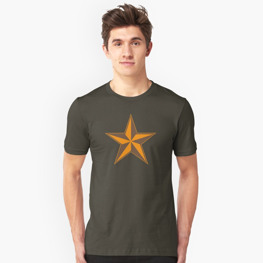 2 Tone Star Unisex T-Shirt Front