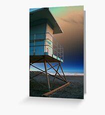 Life Guard Tower Greeting Card