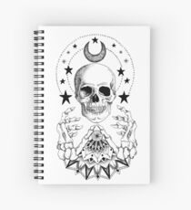 Power Skull Mandala Spiral Notebook