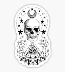Power Skull Mandala Sticker