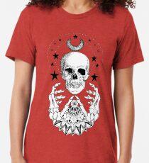 Power Skull Mandala Tri-blend T-Shirt