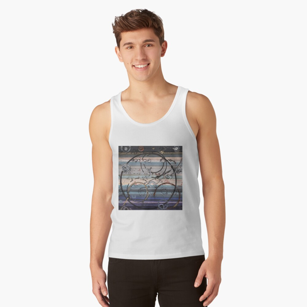 Space race ink on paper Tank Top