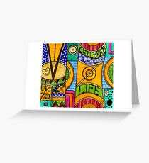 Living a VIBRANT Life Greeting Card