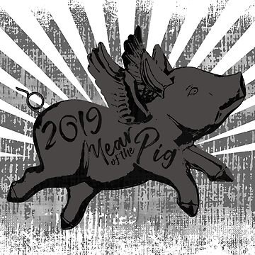 2019 Year of the Pig by surgedesigns
