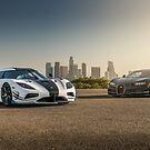Koenigsegg and Bugatti by GrubbsPhoto