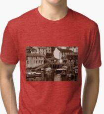 Timeless Polperro, Timeless Cornwall Tri-blend T-Shirt