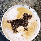 Dog Latte Art by carlacardello