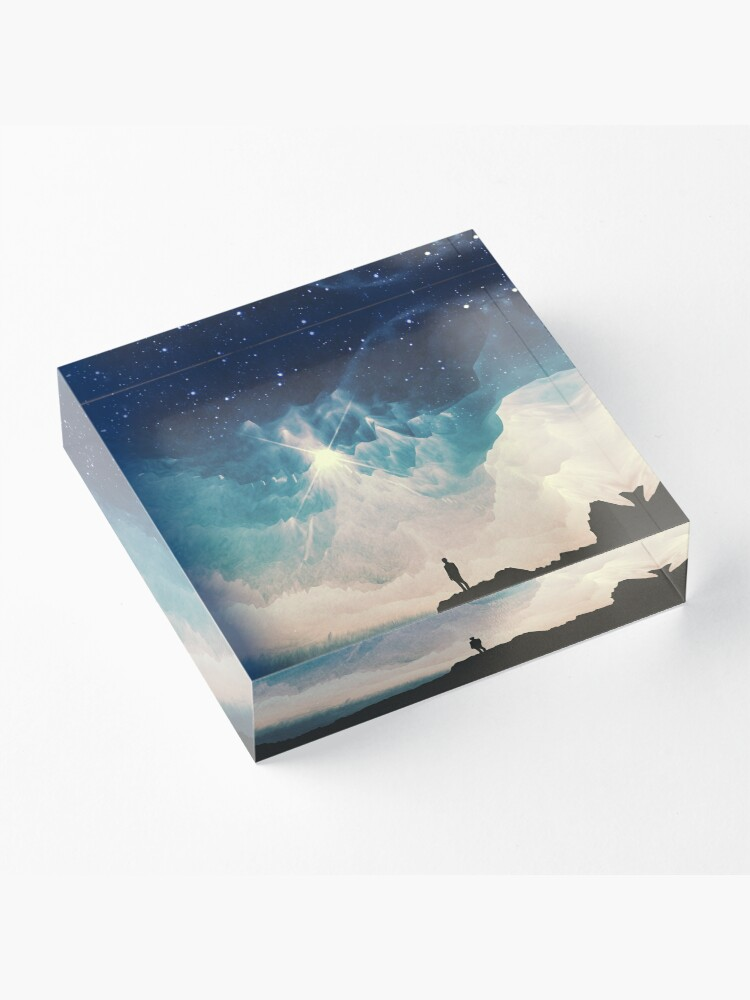 Alternate view of Stars Acrylic Block