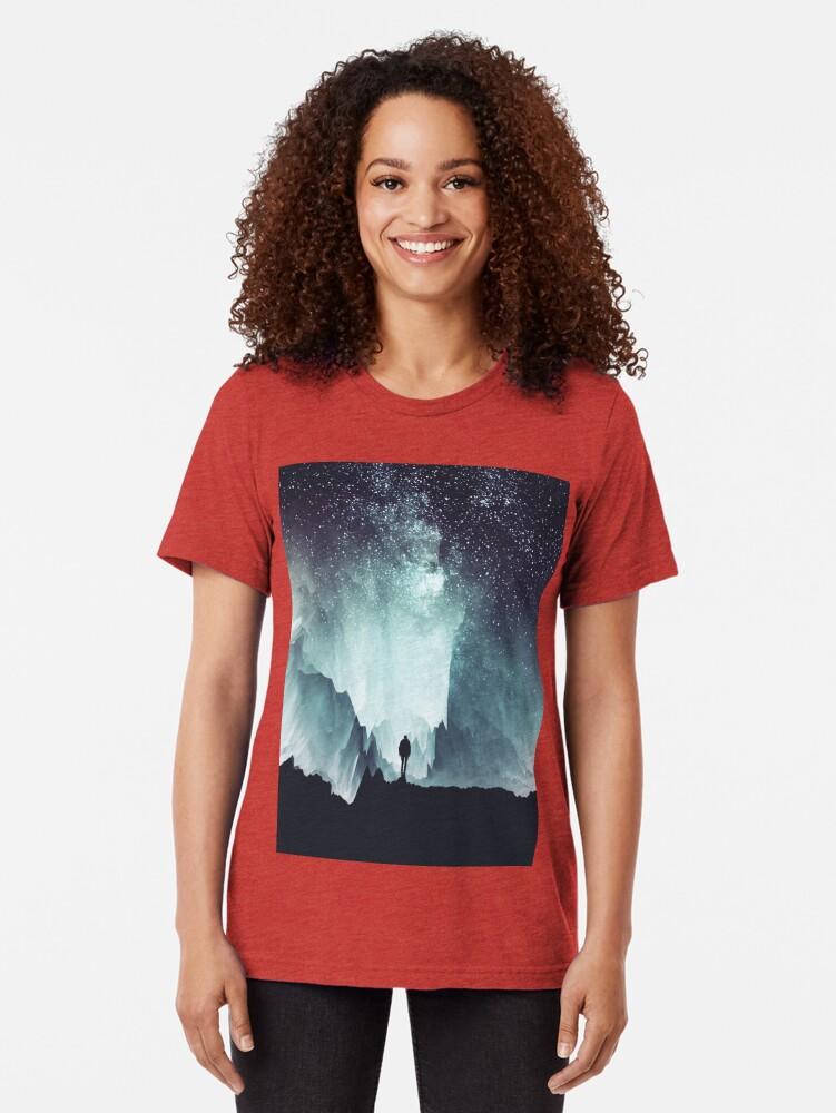 Alternate view of Northern Tri-blend T-Shirt