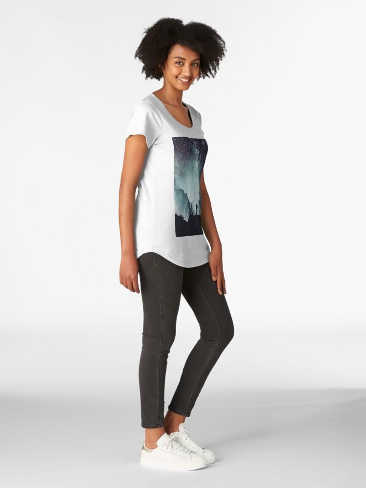 Alternate view of Northern Premium Scoop T-Shirt