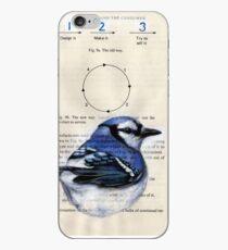 Blue Jay Circle 123 iPhone Case