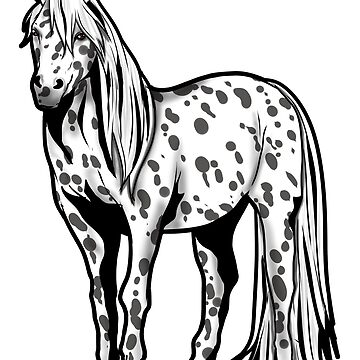 Appaloosa Horse Riding Present gift Pony Girl by Moonpie90
