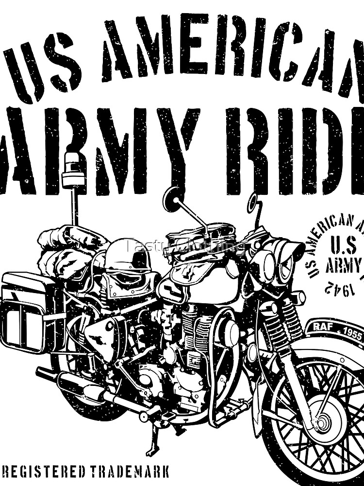 ARMY MOTORCYCLE MILITARY DIVISION by Deadscan