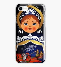 Babushka Matryoshka Russian Doll  iPhone Case/Skin