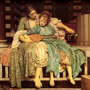 """Frederic Leighton """"Music lesson"""" by ALD1"""