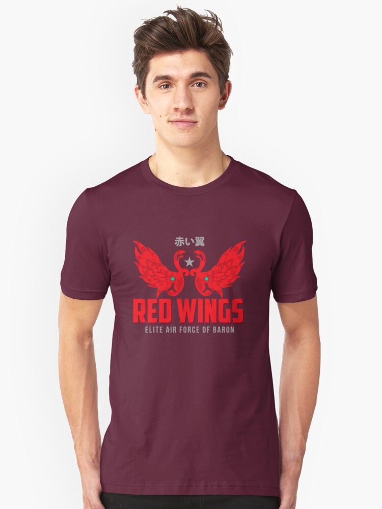 Baron Red Unisex T-Shirt Front