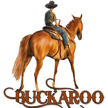 Buckaroo Cute Western Cowboy for Boys by SalonOfArt