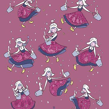 Milkmaids by kookylane