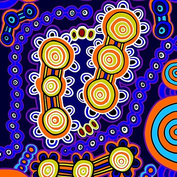 Yugarabul Gathering - Authentic Aboriginal Art by HogarthArts