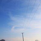 Essex Winter Fields #3 by J J  Everson