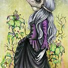 Plague Lady by DianaLevinArt