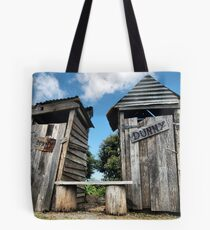 His and hers dunnies Tote Bag