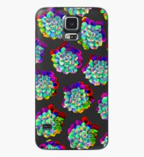 Glitched Succulents Case/Skin for Samsung Galaxy