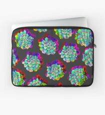 Glitched Succulents Laptop Sleeve