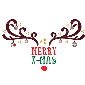 Funny Christmas Shirts Merry X-Mas Holiday Greetings Novelty Gift  by arnaldog
