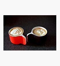 coffee for two Photographic Print
