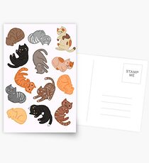 Cats and Cats and Cats Postcards