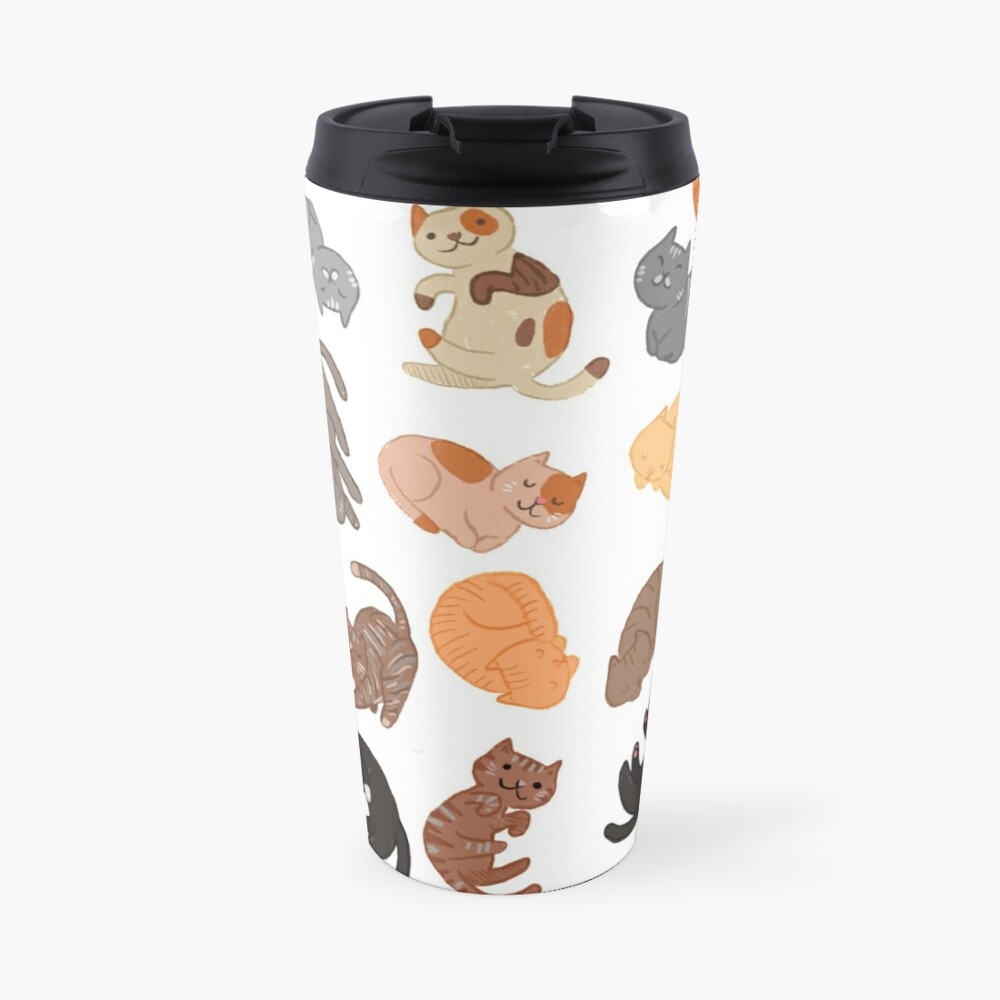 Cats and Cats and Cats Travel Mug