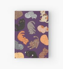 Cats and Cats and Cats Hardcover Journal