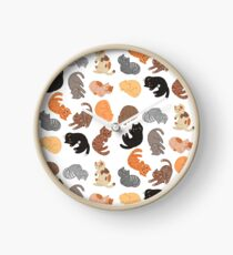 Cats and Cats and Cats Clock